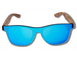 Blue Parrot - Wooden Sunglasses