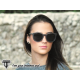 Polarized Wooden Sunglasses -  Black Dragonfly