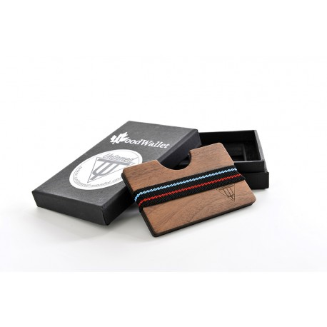 Wooden Card Holder - Walnut Wood