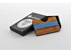 Polarized Wooden Sunglasses Wooden Card Holder - Kosso Wood