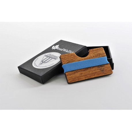 Wooden Card Holder - Kosso Wood