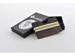 Polarized Wooden Sunglasses Wooden Card Holder - Wenge Wood