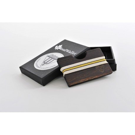 Wooden Card Holder - Wenge Wood