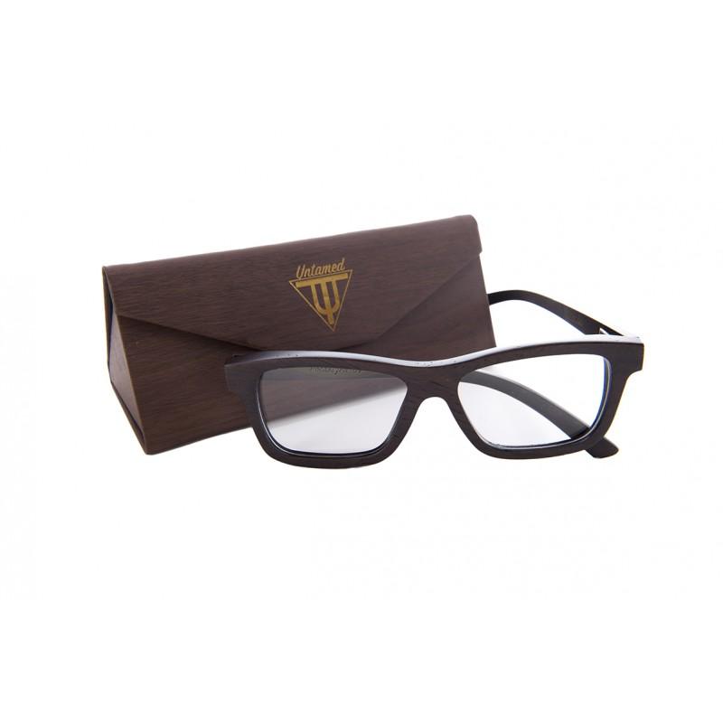gafas de vista de madera