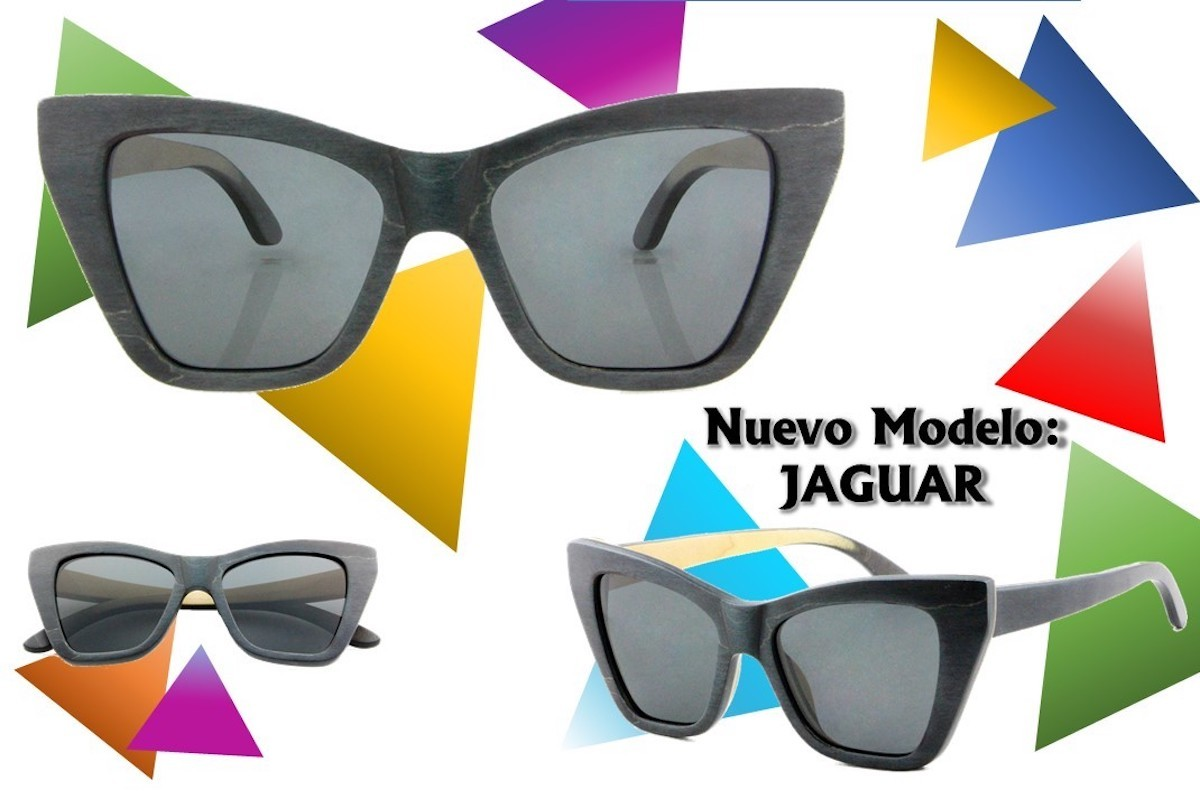 JAGUAR - New Model Wooden Sunglasses