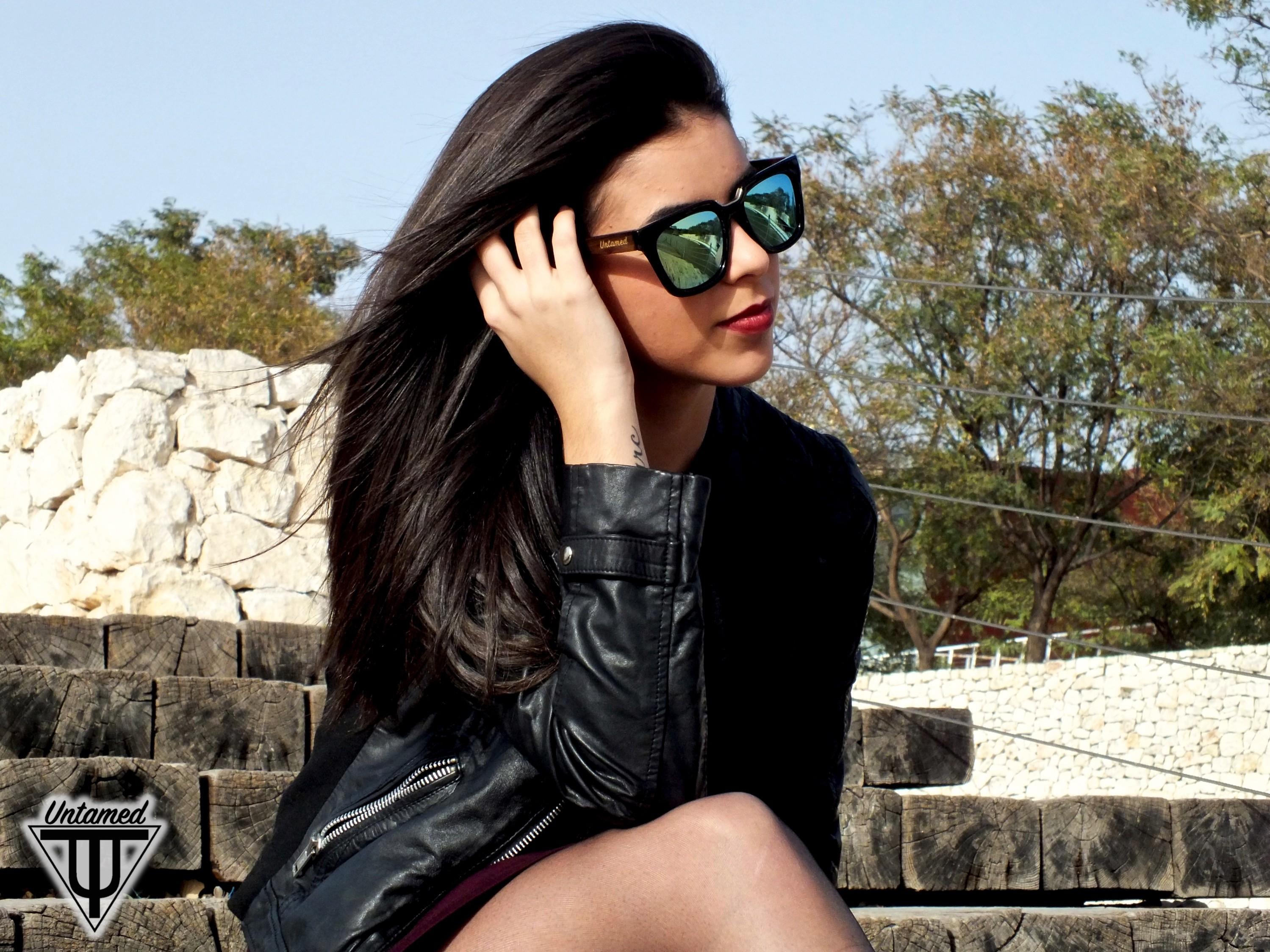 Wood Sunglasses - Untamed World